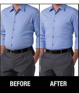 spanx for men before and after